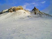 Noordpool landschap Stock Foto
