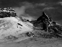 Noordpool landschap Royalty-vrije Stock Afbeelding