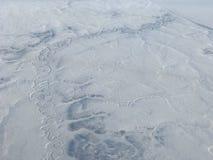 Noordpool luchtmening Royalty-vrije Stock Fotografie