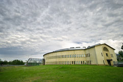Noordpool Museum Rovaniemi Stock Afbeeldingen