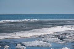 Noordpool Scène Stock Afbeelding