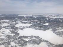 Noordpool Toendra Stock Afbeelding