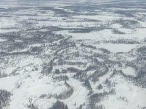Noordpool Toendra Royalty-vrije Stock Fotografie