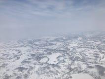 Noordpool Toendra Royalty-vrije Stock Foto's