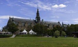 Noords Museum in Stockholm stock foto's