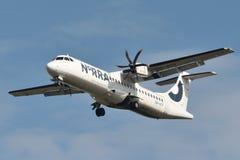 Noords Regionaal Luchtvaartlijnenatr 72-500 vliegtuig royalty-vrije stock fotografie