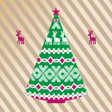 Noordse Kerstboom Stock Foto's