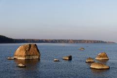 Noordse kust Stock Afbeelding