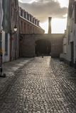 Noordstraat Bruges photo stock