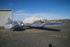 Noorduyn AT-16 Harvard IIB Stock Image