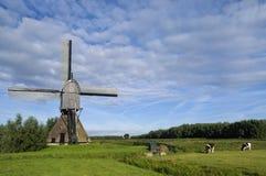 Noordveldse-Mühle nahe Dussen Lizenzfreie Stockfotos