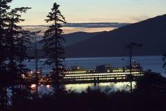 Noordwestelijke veerboot Stock Afbeeldingen