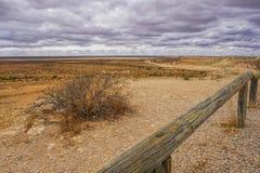 Noordwesten Kusthwy in de mening van Westelijk Australië van vooruitzicht stock afbeelding