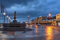 Noordwijk, Pays-Bas Images libres de droits