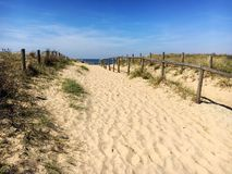 Noordwijk strand Royaltyfri Bild