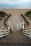 Noordwijk strand, Nederländerna Arkivfoto