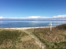 Noordzee, Denemarken Royalty-vrije Stock Fotografie