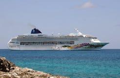 Noors de cruiseschip van de Hemel Stock Foto