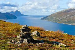 Noors landschap Royalty-vrije Stock Foto