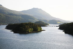 Noors landschap Royalty-vrije Stock Afbeeldingen