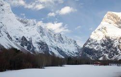 Noors landschap Stock Foto's