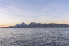Noors landschap Stock Afbeeldingen