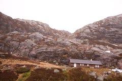 Noorse bergen royalty-vrije stock afbeeldingen