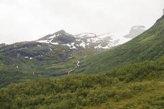 Noorse bergen Royalty-vrije Stock Foto
