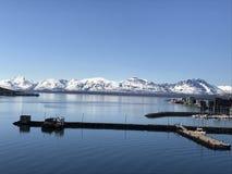 Noorse bergen Stock Afbeeldingen