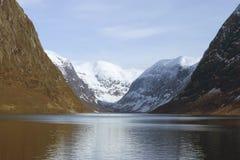 Noorse fiord Stock Foto