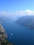 Noorse fjord royalty-vrije stock fotografie