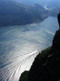 Noorse fjord royalty-vrije stock afbeelding