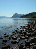 Noorse fjord Stock Foto