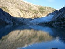 Noorse fjorden royalty-vrije stock afbeeldingen