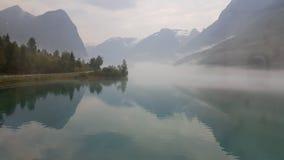 Noorse gletsjer royalty-vrije stock afbeeldingen