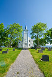 Noorse kerk Royalty-vrije Stock Fotografie