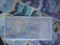 1000 Noorse Kroon (NOK) nota Royalty-vrije Stock Foto