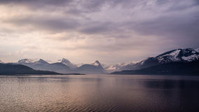 Noorse kustlijn Royalty-vrije Stock Afbeeldingen