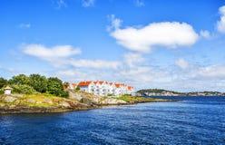 Noorse landschappen Stavanger Stock Afbeeldingen