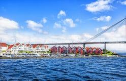 Noorse landschappen Stavanger Royalty-vrije Stock Foto