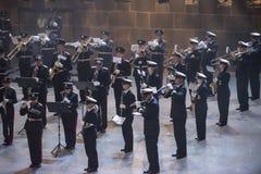 Noorse Militaire Tatoegering 8 Mei 2014 Royalty-vrije Stock Foto