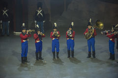 Noorse Militaire Tatoegering 8 Mei 2014 Royalty-vrije Stock Foto's