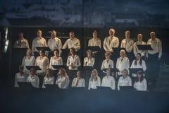 Noorse Militaire Tatoegering 8 Mei 2014 Royalty-vrije Stock Afbeelding