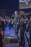 Noorse Militaire Tatoegering 8 Mei 2014 Royalty-vrije Stock Fotografie
