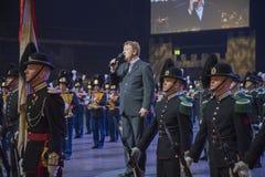 Noorse Militaire Tatoegering 8 Mei 2014 Royalty-vrije Stock Afbeeldingen