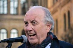 Noorse politicus Svein Flåtten (h) Royalty-vrije Stock Foto