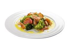 Noorse salade stock fotografie