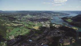 Noorse Zuidenstad Lillehammer stock video