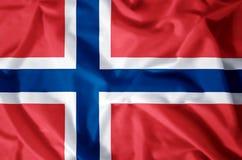 noorwegen royalty-vrije illustratie