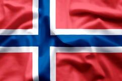 noorwegen stock illustratie